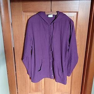 2/$15 Hooded Shirt